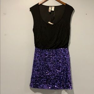 NWT SEQUINED DRESS